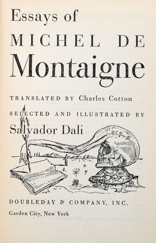 montaigne essays analysis Michel de montaigne essays summary - receive a 100% authentic, non-plagiarized paper you could only think about in our custom writing help hire the professionals to.