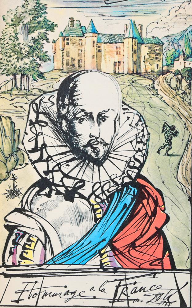 essays of michel de montaigne dali