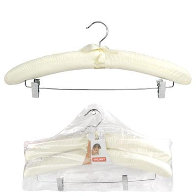 Набор вешалок для трикотажа с зажимами. Цвет: белый, 2 шт - Интернет-гипермаркет