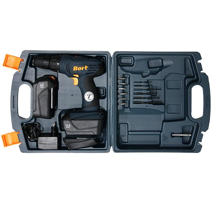 Дрель-шуруповерт Bort, аккумуляторная. BAB-14Ux2-DK - Интернет-магазин винтажных вещей