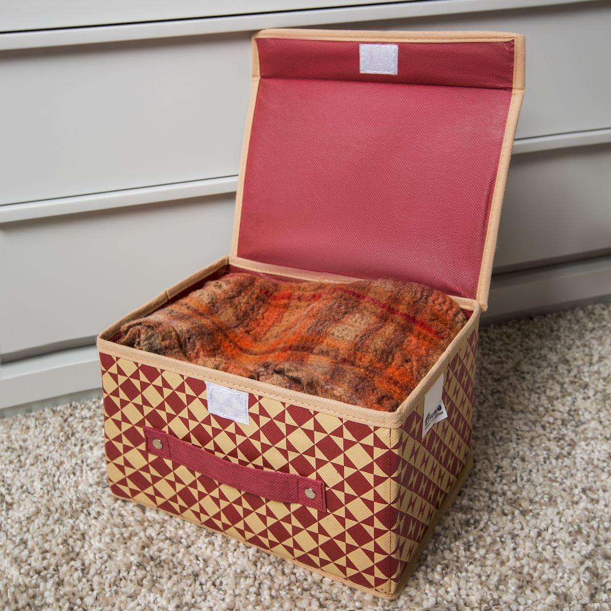 Как сделать коробки с крышкой для хранения вещей своими руками