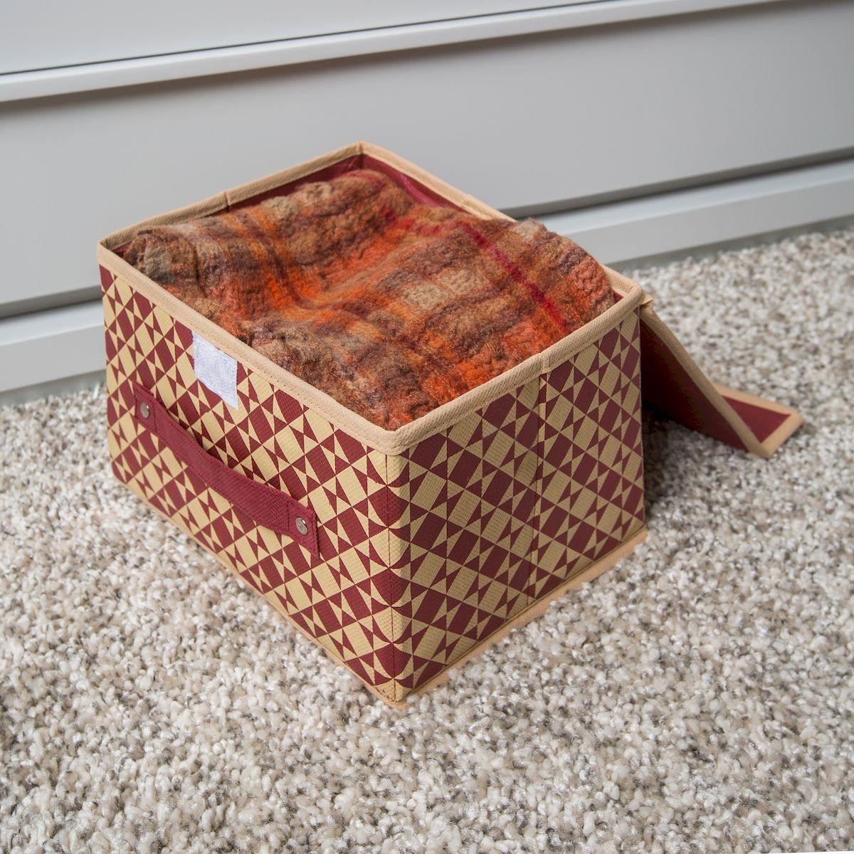 Коробка для хранения крышек
