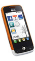 LG GS290 Cookie Fresh, White Orange