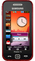 Samsung GT-S5233T Star TV, Red