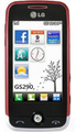 LG GS290 Cookie Fresh, Wine Red
