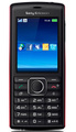 Sony Ericsson J108i Cedar, Black-Red