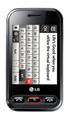 LG T320, Titanium Black