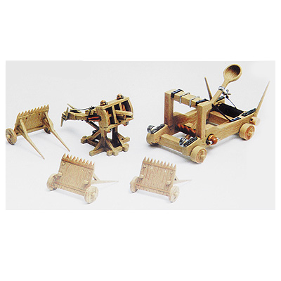 Сборная модель метательные машины