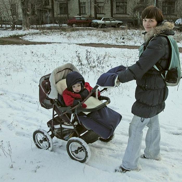 Зимний конверт для колясок своими руками