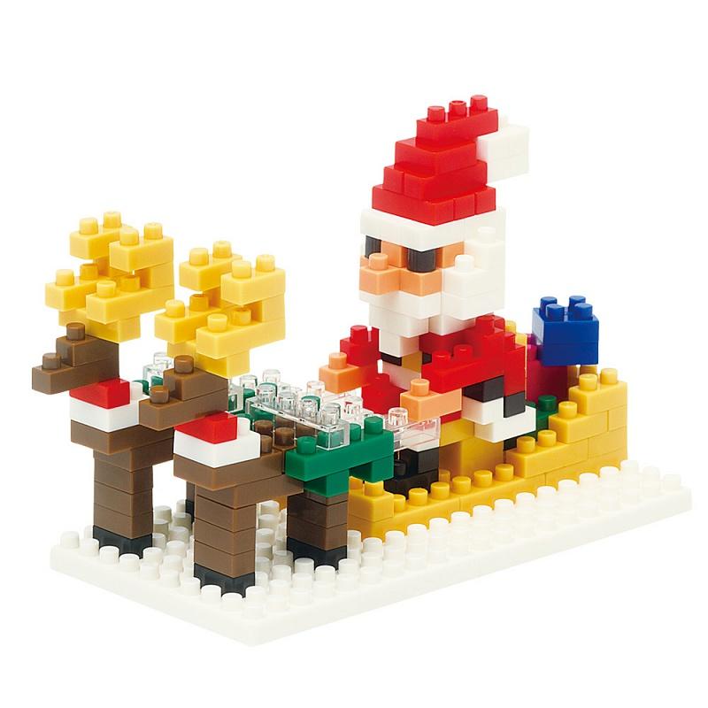 Лего на новый год от деда мороза