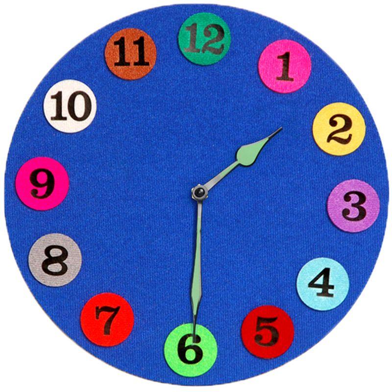 Часы с распорядком дня своими руками 34